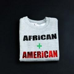 Africa + American Sweatshirt Green