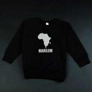 Africa in Harlem Crewneck Sweatshirt Silver