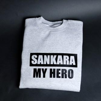 Sankara My Hero Grey & Black
