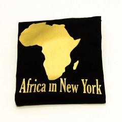 Africa in New York T-shirt Gold Original – Women