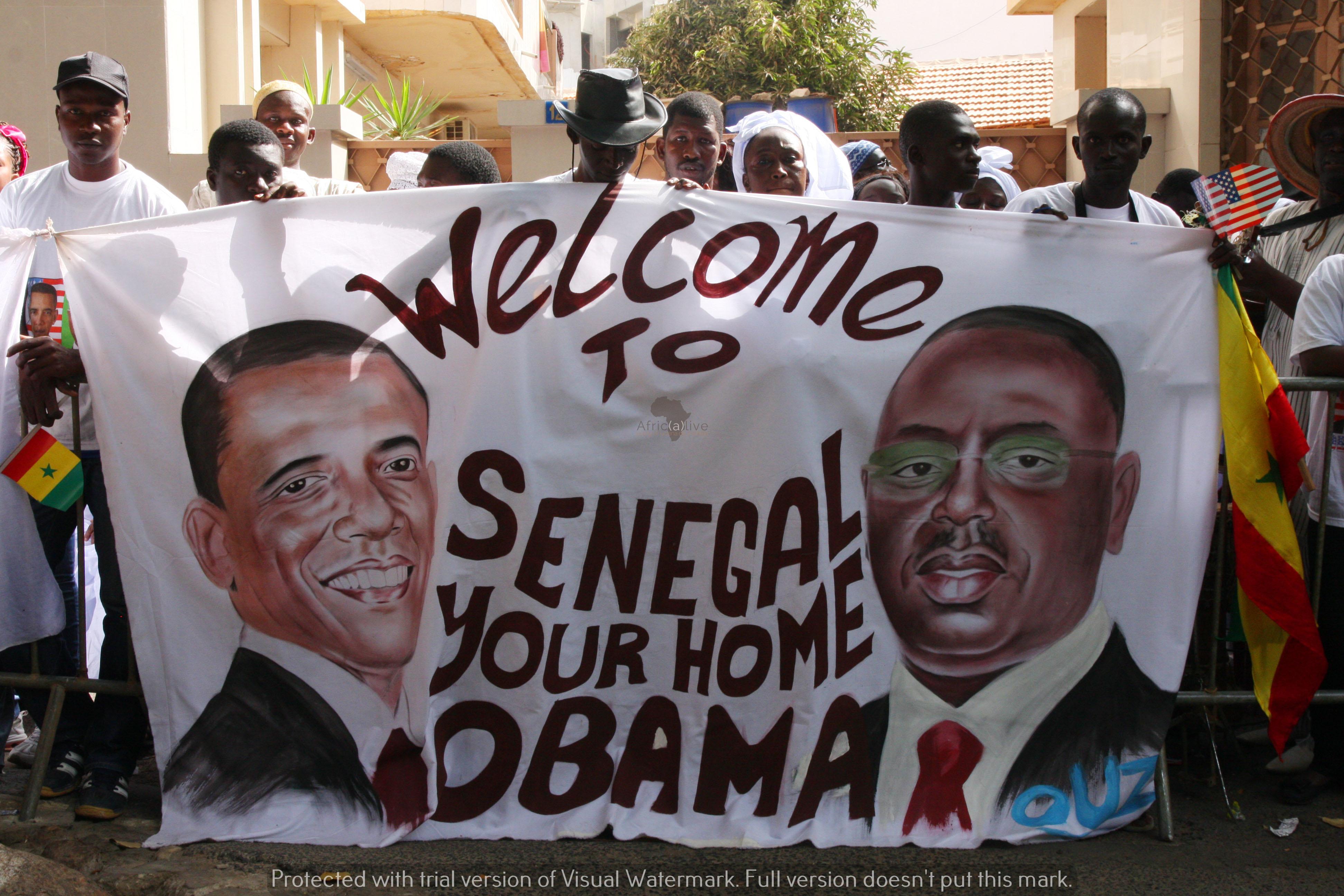 La visita di Barack Obama in Senegal