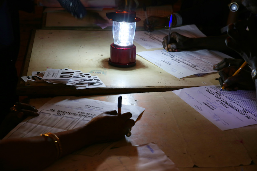Referendum in Senegal: prime tendenze e immagini della giornata