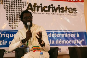 Cheikh Fall, promotore di Africtivistes