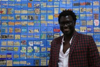 Mamadou Ndoye, artista plastico senegalese.