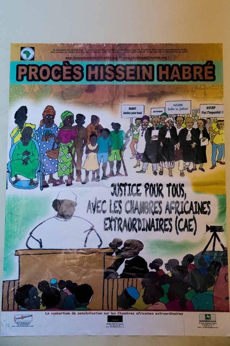Risarcimento delle vittime di Hissene Habré: la decisione del tribunale speciale