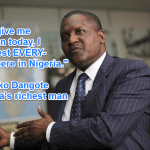 Advice from Africa's Wealthiest Man