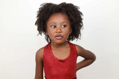 Beautiful African child / girl hair