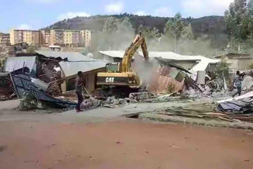 In February, bulldozers began demolishing thousands of homes in Legetafo Legedadi, outside Addis Ababa.