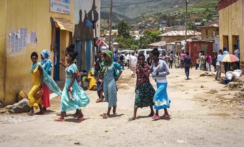 In Aksum, Tigrayan region of Ethiopia. Credit: Rod Waddington.