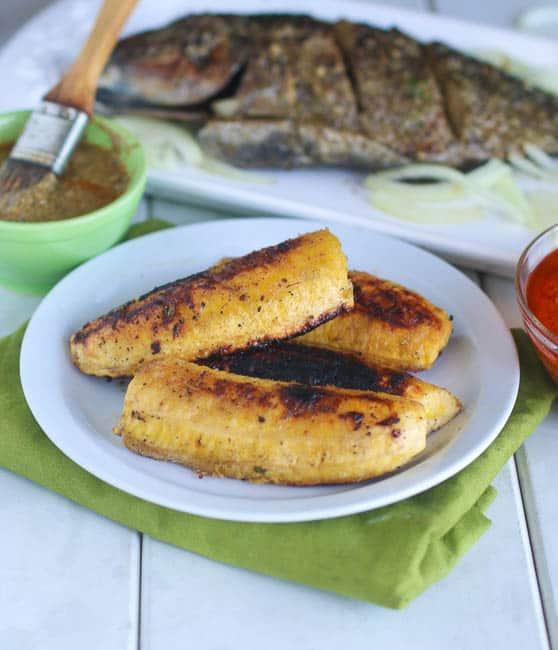 Grill Plantains