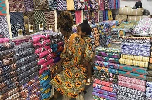 Shopping in Cotonou Benin Republic with African Boheme Sunshine Abou Bakar