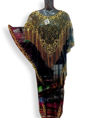 African Black made Shrug New Dresses for Women Dubai Party Wear 2020