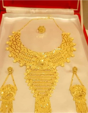 Fashion Gold Plated Necklace Set Jewelry for Women