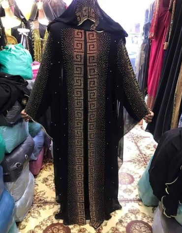 African Attire Abaya Material For Women Moroccan Party Wear Dubai Abaya