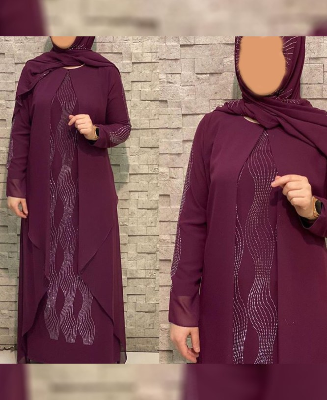 New Designer African Attire Fancy Moroccan Trendy Party Abaya For Women
