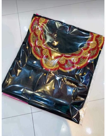 African Attire Designer Dress Material For Wedding Satin Silk Dresses Material Fancy Wear For Women