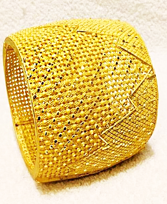 Elegant Fashionable African Design Evening Party Trendy Bangles Jewelry For Women