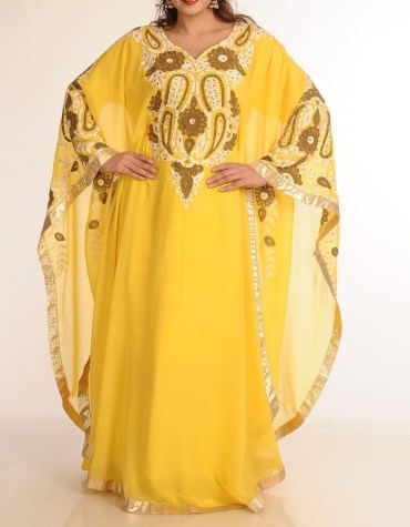 African Attire long Sleeve Party Wear Abaya Dresses Wedding For Women Dubai