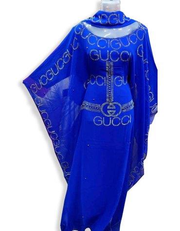 Latest Premium Wedding Collection With Beaded Work kaftan Stylish Dress For Women