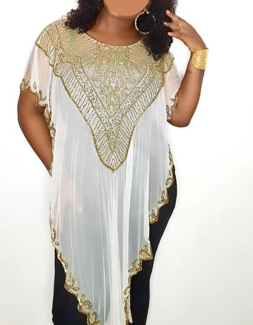 Trendy & Fancy Cover up Evening Handmade Beaded Abaya Women Dubai Kaftan
