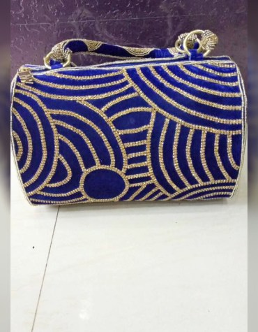 African Latest Beaded Work Stylish Wedding Party 2021 Handbag for Women