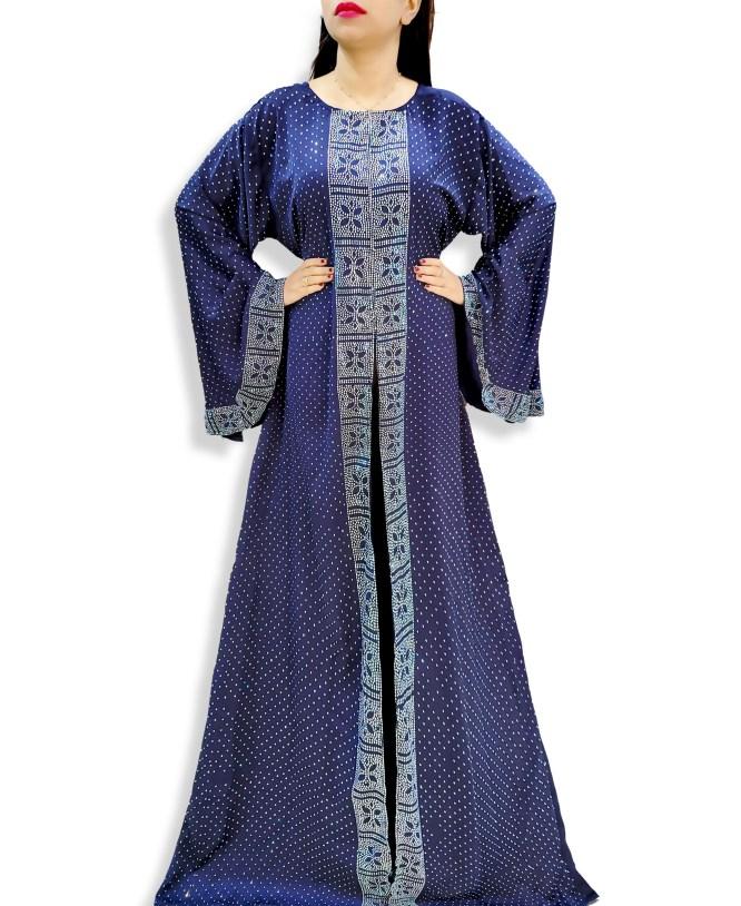 Elegantly Designer Unique Premium Rhinestone Work Party Abaya For Women