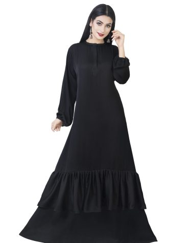 African Latest Islamic Design Soft Fabric Trendy Dubai Abaya For Women