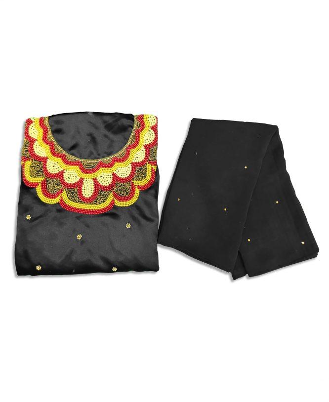 Unique Elegant Material For Wedding Satin Silk Dresses Material Fancy Wear For Women