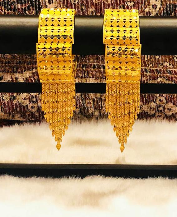 New Arrived Latest African Designer Party Wear Bangles Set