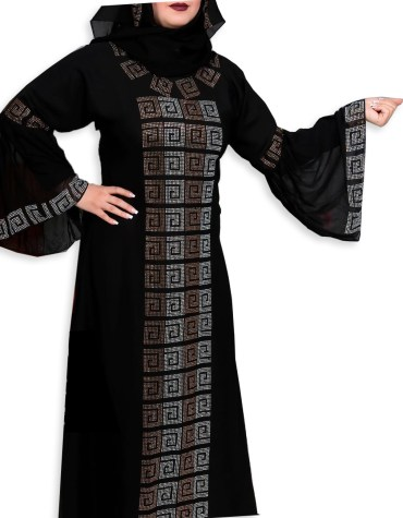New Arrived Fancy and Premium Quality African Trendy Party Wear Abaya for Women