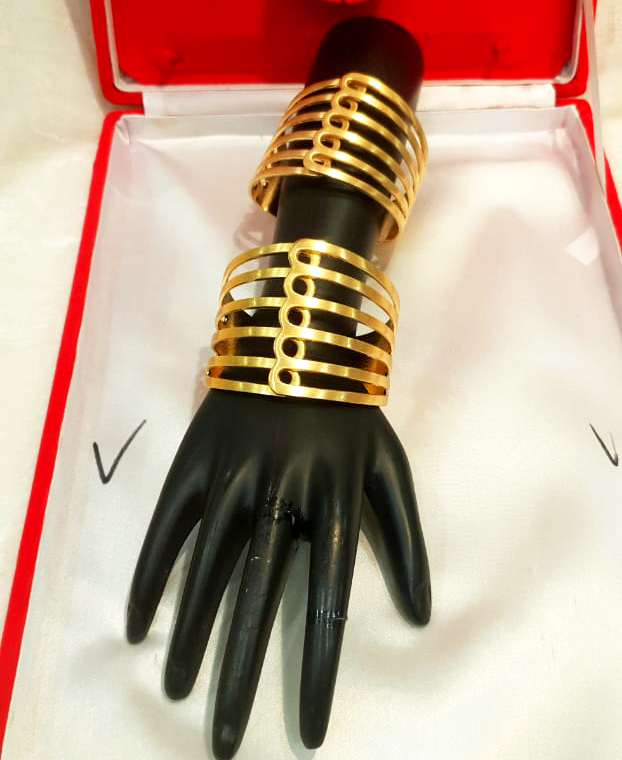 New Arrived Latest and Trendy Daily Wear African Designer Bangles Set for Women