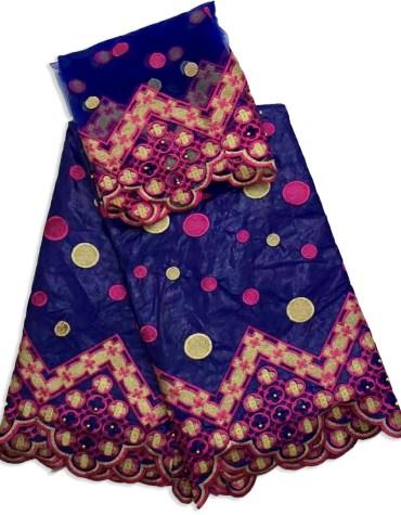 Elegant Designer Beaded Embroidery Work Satin Slik Dress Material Fancy For Women