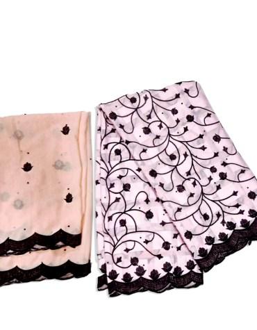 New Classic Brilliant Swiss Voile Designer Cotton Piece Super Embroidery Dress Material