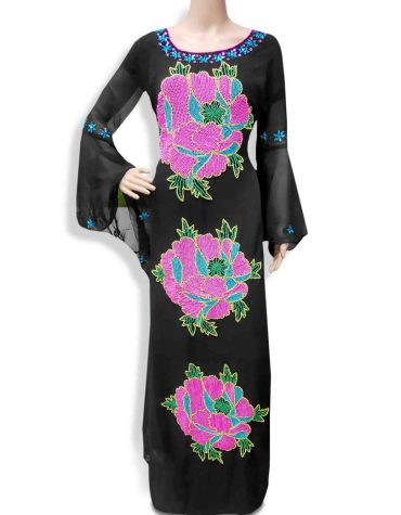 New Dubai Designer Wedding Dresses For Women New Fashion Beaded Chiffon kaftan