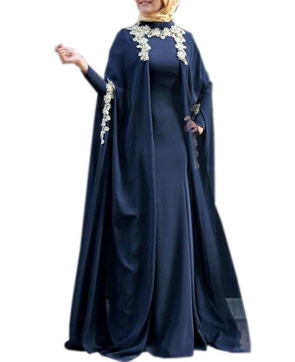 New Collection Designer Jacket With Inner Dress Dubai Kaftan Wedding Dress For Women