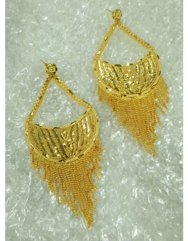 New Premium Gold Platted Fabulous Trendy Designer Earrings Women Jewellery