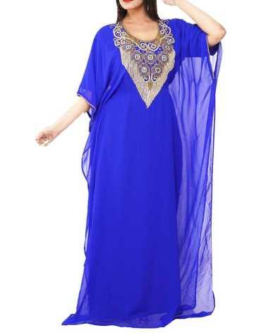 African Attire Caftan Dress Long Sleeve Formal Maxi Gown Evening Dress for Women