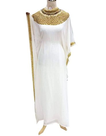 African Trendy Embroidery Party Moroccan Beaded Elegant Dubai Kaftan For Women.