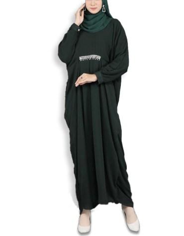 New Trendy Collection Handmade Abaya With Rhinestone Work Beatifully Made For Women