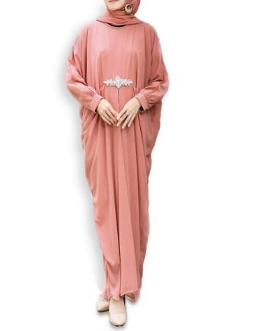 Newly Eid Collection Rhinestone Party Designer Dubai Kaftan Dress For Women