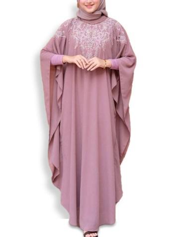 Latest Designer Brilliant Collection With Rhinestone Work Kaftan Dresses For Women