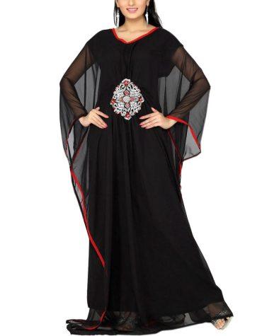 Super Unique Farasha Moroccan Beaded Work Kaftan Women Wedding Designer Dress