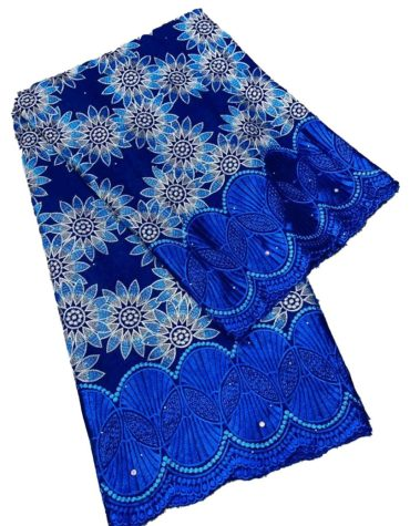 Heavy Embroidered Classic Party Attire Swiss voile Cotton with dress Material For Women