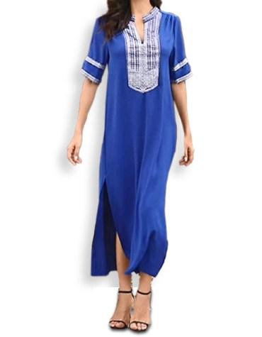 Summer Style Daily Wear Stylish Embroided beautiful Tunic Kurti For Women