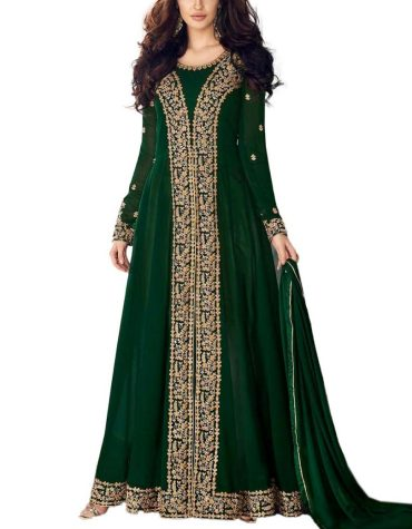 Royal Collection Elegant Heavy Embroidery Work Stitched Chiffon Anarkali For Women