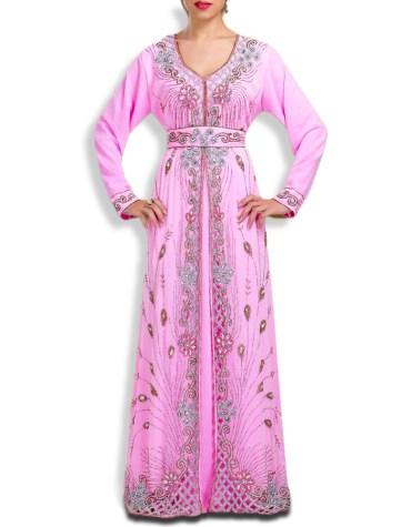 Elegant Dubai Muslim Wedding Stylish Designer Kaftan Dress For Women