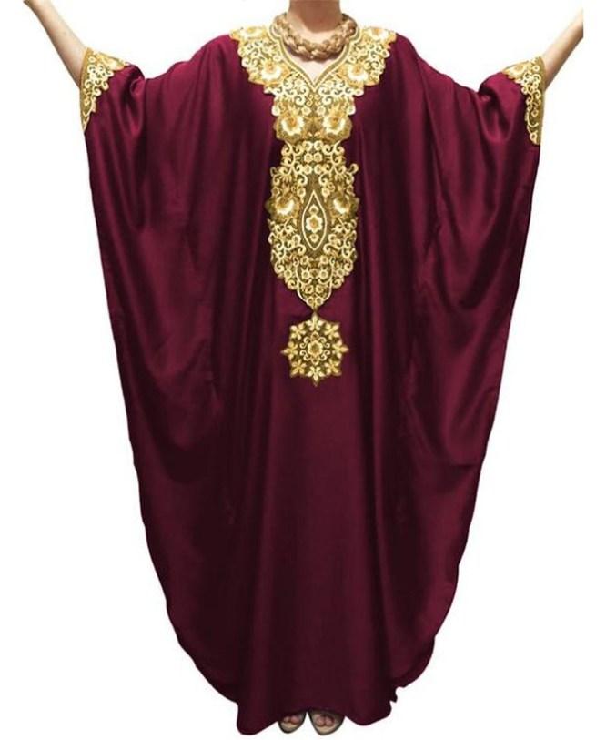 New Wedding Beautiful Full Sleeves Farasa Dress For Women
