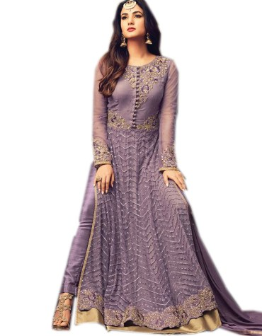 Trendy Indian Style Evening Party Wear Anarkali Suit for Women