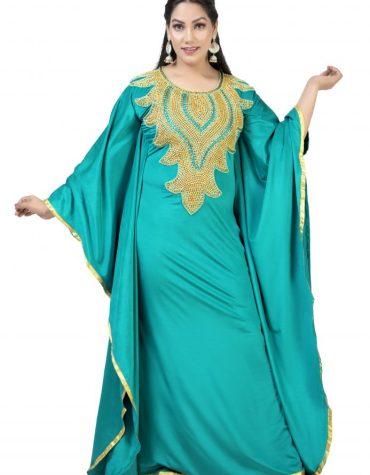 Elegant African Spandex Golden Beaded Spandex Prom Dress For Women