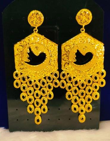 New Trendy Fancy Twitter Earrings African Jewelry For Women